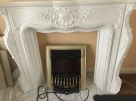 Fireplace surround Louis style