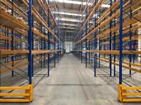 ESMENA PALLET RACKING WAREHOUSE STORAGE FRAMES & BEAMS (Brentwood Branch)