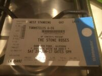 1 Standing Stone Roses Ticket for sale