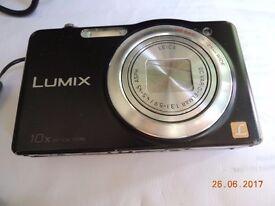 panasonic lumix sz1 black 16mp 10x zoom, good camera, fully working order