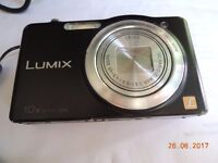 panasonic lumix sz1 black 16mp 10x zoom, good camera, fully working order