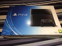 PlayStation 4 500GB & controller/games