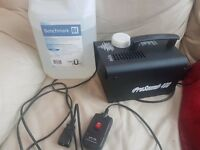 pro sound 400 smoke machine with 1L Fluid used once