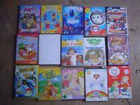 15 CHILDRENS DVD'S