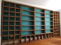 BESPOKE industrial reclaimed wood HOME OFFICE furniture upcycle custom vinyl storage gplanera