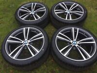 "Bmw 442 19"" alloys in new condition"