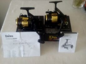 Pair of Daiwa SS TOURNAMENT 2600 Reels very nice condition hardly used boxed with papers.