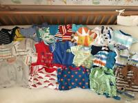 Baby boy clothes bundle 0-3