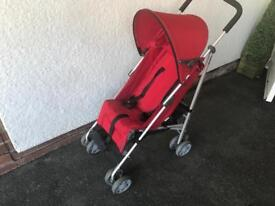 Mamas and Papas Children's Push Chair / Stroller Includes Rain Cover and Carry Case Exc. Condition