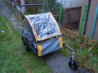 Instep double 2in1 bicycle trailer/jogger stroller