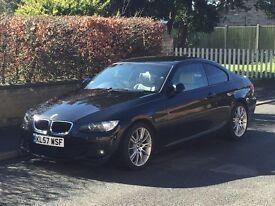 BMW E92 325D M Sport Coupe (3 Litre, 249bhp 470 lb/ft Torque)