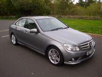 Mercedes C Class C220 Amg Sport * Xenons * Paddle Shift * 320d a4 a5 330d is200 bmw audi vw passat