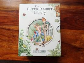 New still in wrapper collection of Beatrix Potter books