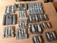 Fishing weight moulds