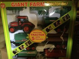 Tractor farm set