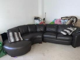 J shape sofa from furniture village