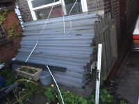 Car Port, Shed, Garage Roofing Sheets £100 only