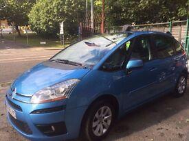 CITROEN C4 PICASSO VTR PLUS body type MPV, Petrol, 1598cc, blue, 58 reg, 90225 Miles, ONE KEEPER