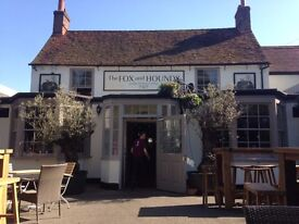 Front of House staff needed to join our team at busy country pub near Windsor