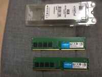 A PAIR OF MATCHED 4 MEG DOUBLE DATA RAM