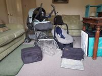 3 in 1 Mamas and Papas Baby Pushchair