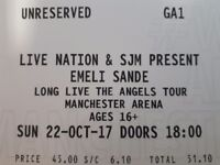 Emeli Sande Tickets x 4 Men Arena