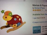Mamas & papas lotty ladybird as new