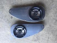 Eunos Roadster MX5 MK1 Orion Speaker Surround Teardrops Stainless with Speakers