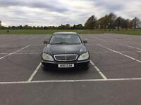 MERCEDES BENZ S430 LIMO RARE FULLY LOADED