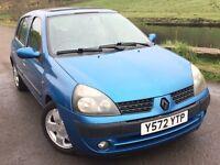 2001 Renault clio 1.4 privilege
