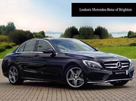 Mercedes-Benz C Class C220 D AMG LINE PREMIUM PLUS (black) 2016-04-15