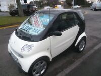 Great looking Smart CITY Pulse 61,698 cc Coupe,semi auto,£30 a year road tax,only 28,000 miles