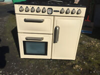 Leisure 90cm dual fual range cooker