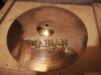"Sabian AA Sound Control 15"" Crash (Please see description)"
