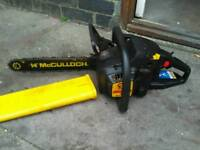 Mculloch Mac cat petrol chainsaw in Good condition