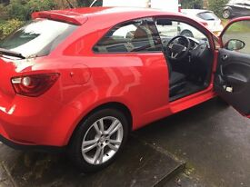2009 SEAT IBIZA SPORT 84 RED Excellent condition Lady owner driven carefully Service history MOT