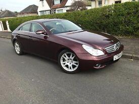 Mercedes CLS ,Diesel, 4 door , low mileage, fantastic condition