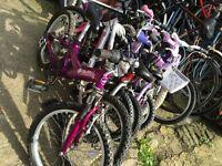 BARGAIN*** Kids Bikes (Cranks DIY Bicycle Workshop Brighton)