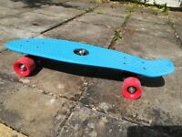 """Blue """"Penny Skateboard""""- great little commuter vehicle for any age!!!"""
