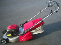 "mountfield sp465r mower roller, 18"" cut, self propelled, serviced, gwo, honda engine"