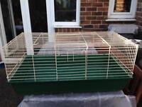 Large indoor rabbit/Guinea pig cage