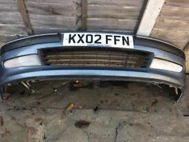 406 Peugeot bumper