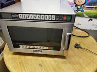 Used commercial microwave oven Sharp R-1900M