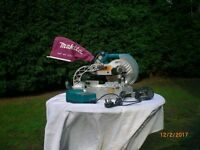 Makita 18v Cordless Compound Slide mitre saw LS711d With Battery Converter