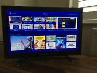 "Sony Bravia 22"" HD LED TV (WiFi Freeview HD & Sony Internet TV) - As new with Box"