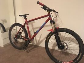 hardtail mountain bike 140mmm onone 456