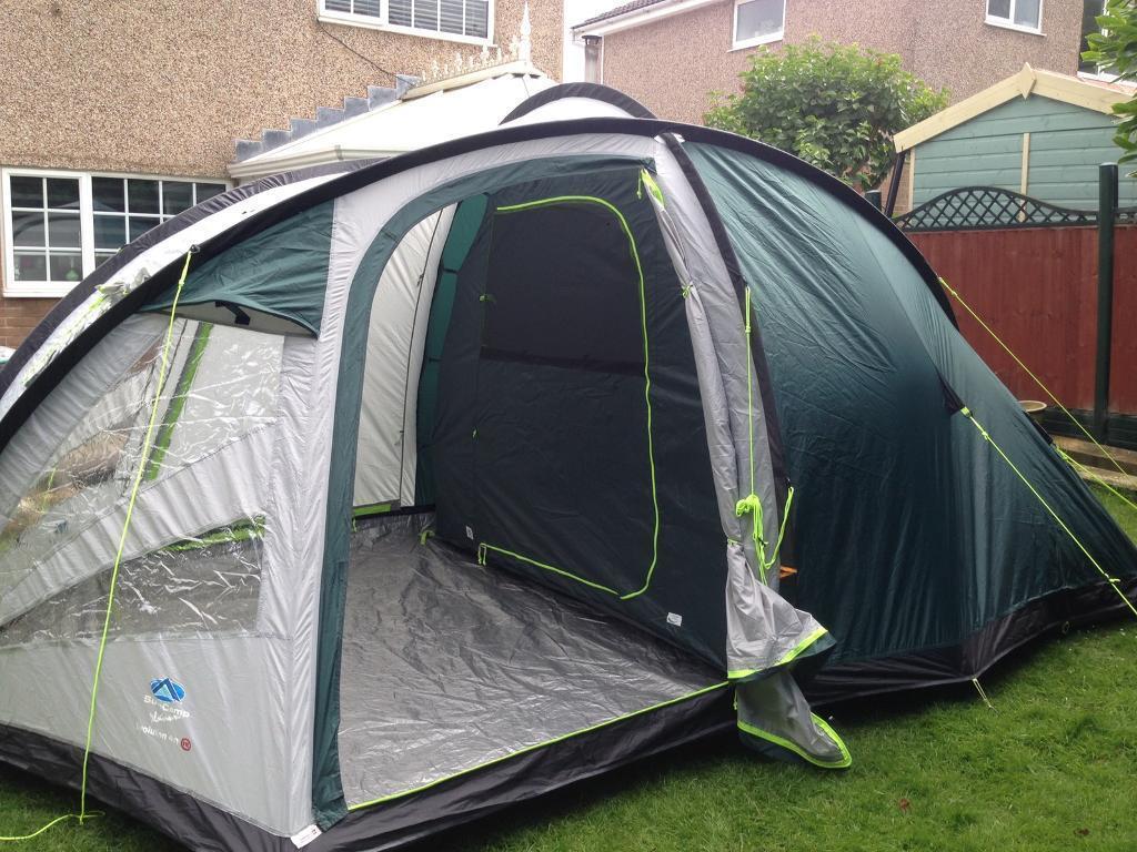 Sunncamp Platinum Evolution 400 Tent And Fleece Carpet