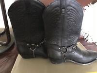 Leather Western/Cowboy Boots Real Leather UKsize 6, USsize 7, EUsize 39