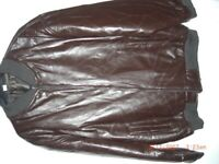 Leather jacket, brand new