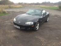 03/03 MAZDA 1.6 MX5 2DR SPORTS COUPE CONVERTIBLE INC HARDTOP (CAT D)